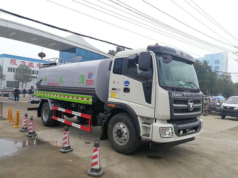 買15噸灑水車就選福田瑞沃,絕對的物超所值!
