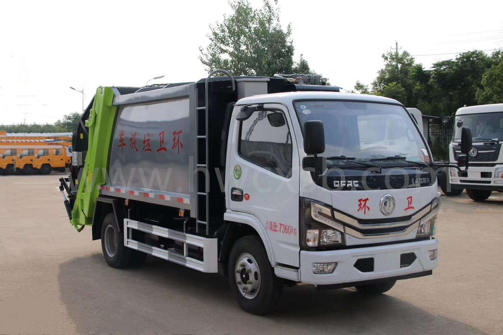 小多利卡压缩式垃圾车(国六5方)