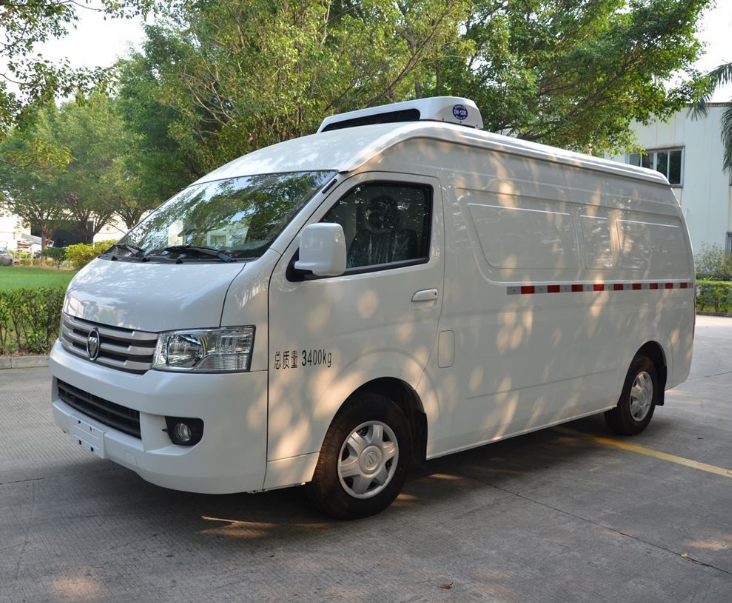 福田G7面包式冷藏车(市区通行)