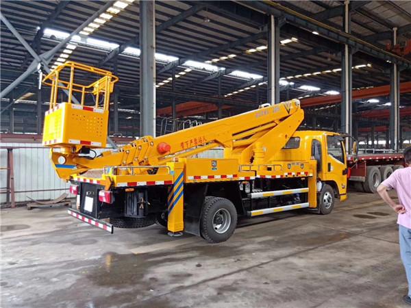 22米直臂伸缩式高空作业车,国六伸缩臂高空作业车