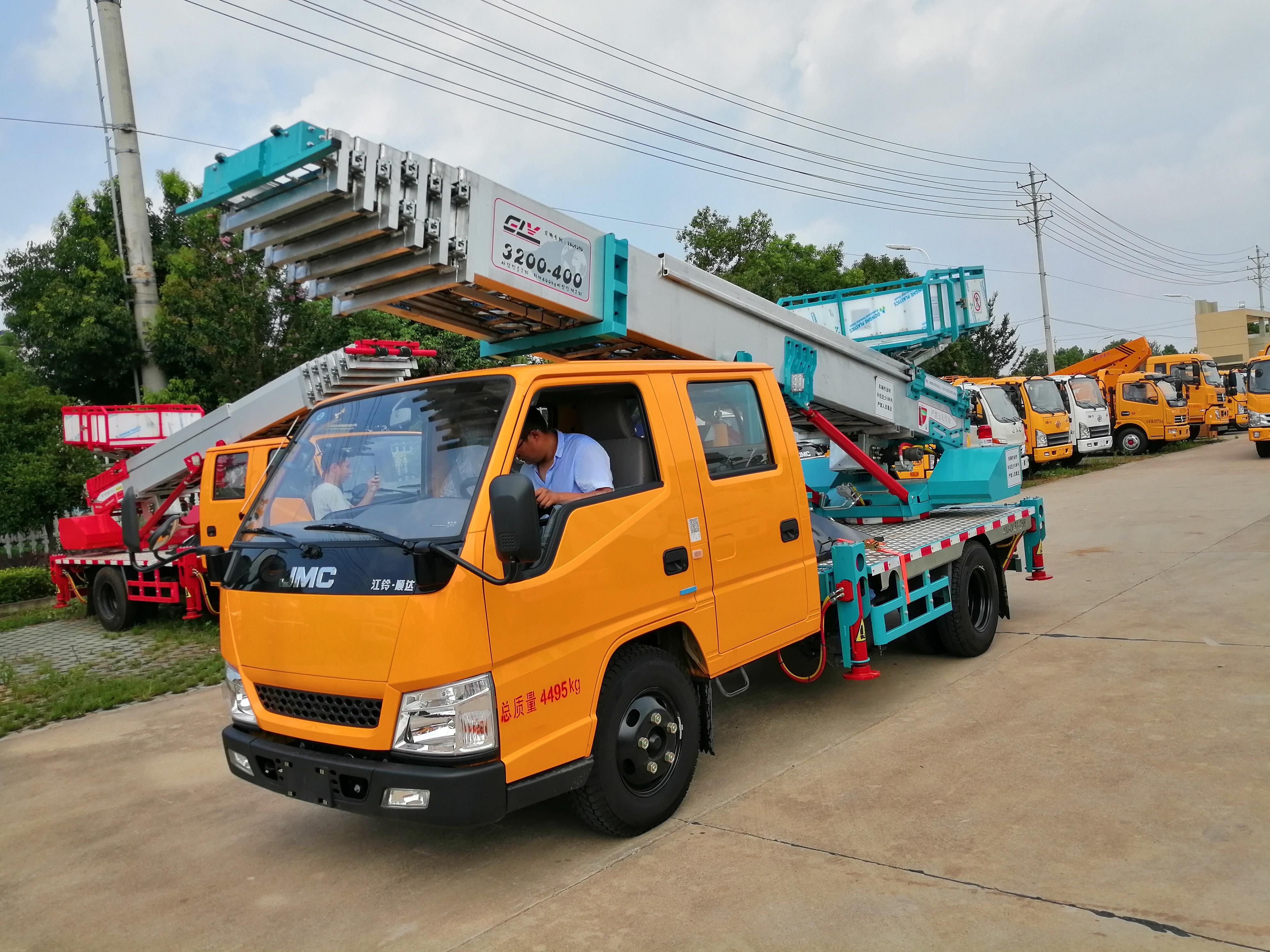 江鈴32米云梯高空作業車