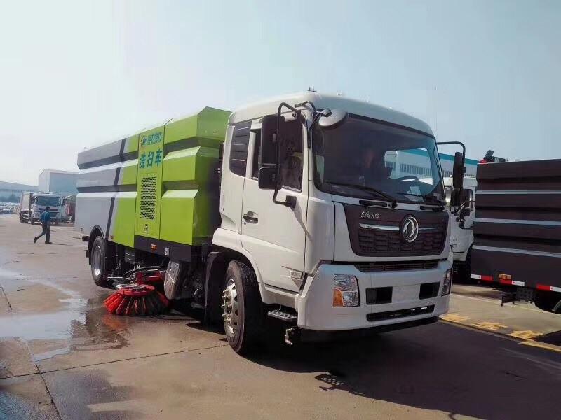 国六天锦洗扫车210马力图片