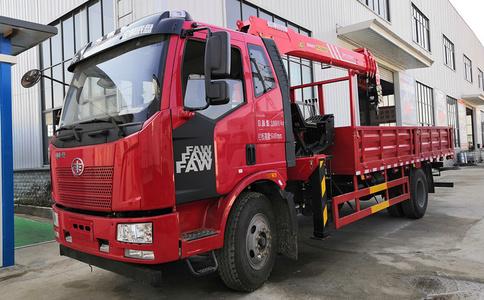 解放J6三一8吨随车吊价格