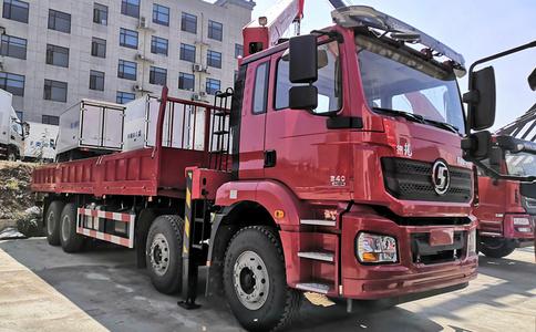 德龙14吨三一随车吊_分期价格