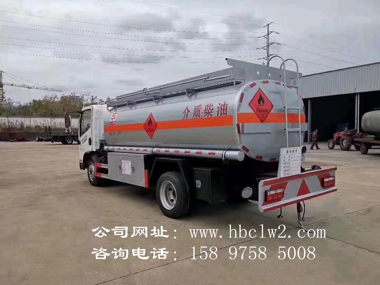 解放虎威8吨加油车图片
