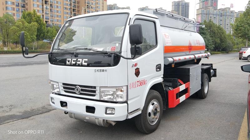 5吨甲醇 乙醇罐式运输车 4.32方易燃液体罐式运输车视频视频
