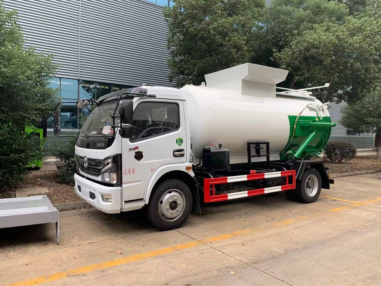 国六东风凯普特8方餐厨垃圾车图片
