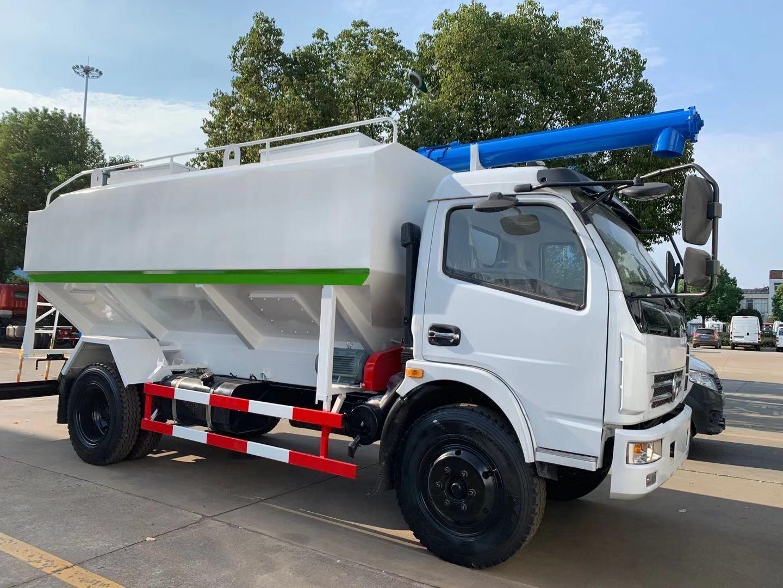 东风(12方/6吨)散装饲料运输车图片
