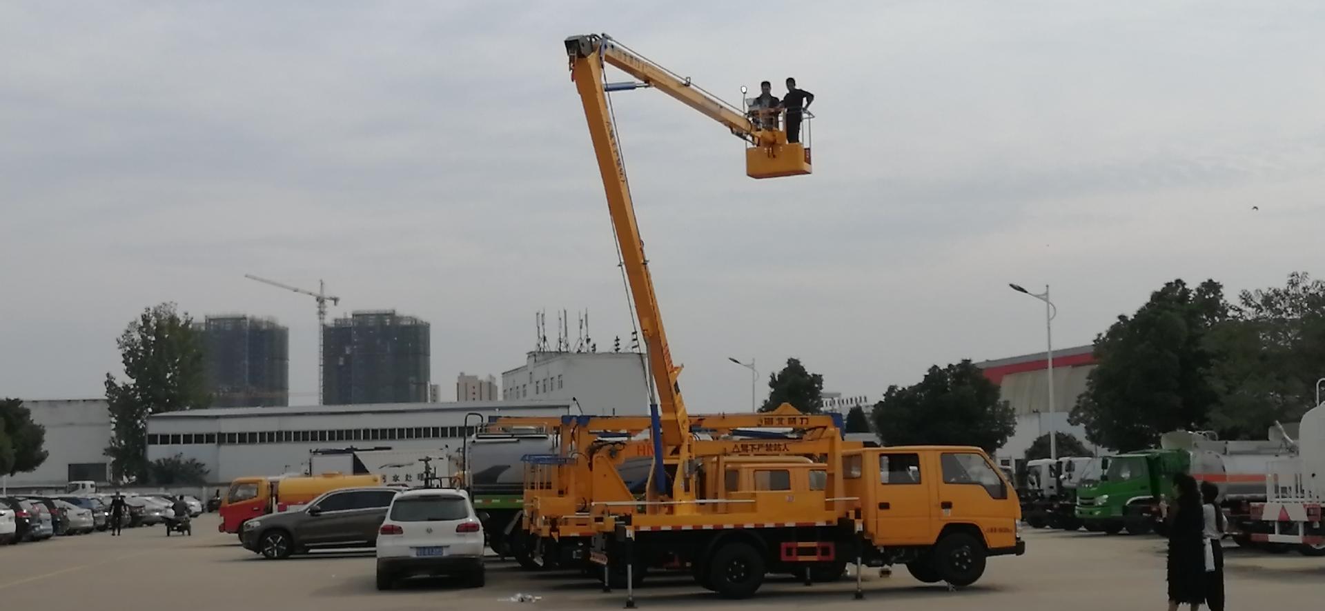 江铃顺达16米折臂高空作业车