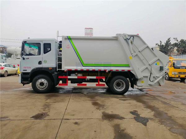 東風多利卡D9后裝壓縮垃圾車圖片