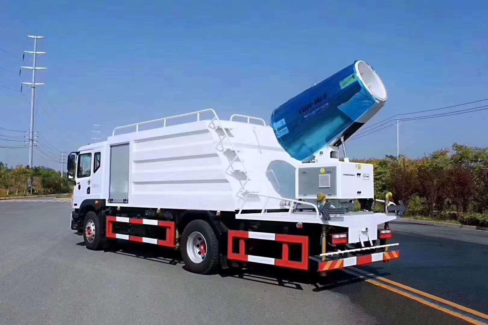 国六抑尘车30 60 80 100 120米风机生产厂家直销
