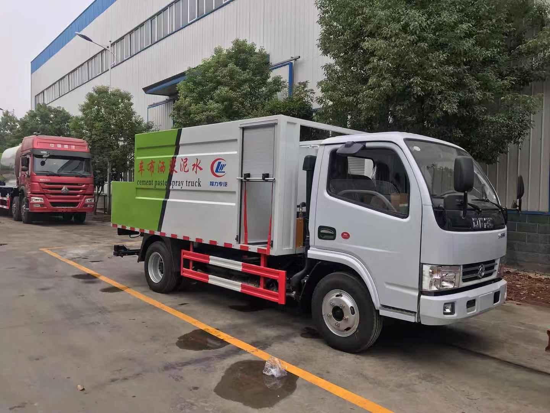 東風多利卡3噸水泥凈漿撒布車