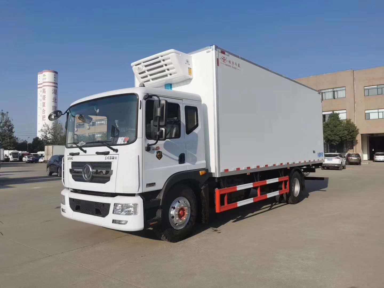 东风D9款6.8米厢体冷藏车厂家直销价格图片