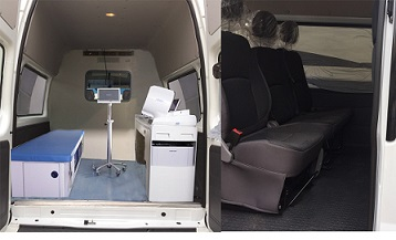 CLW5040XYLJ5型体检医疗车3