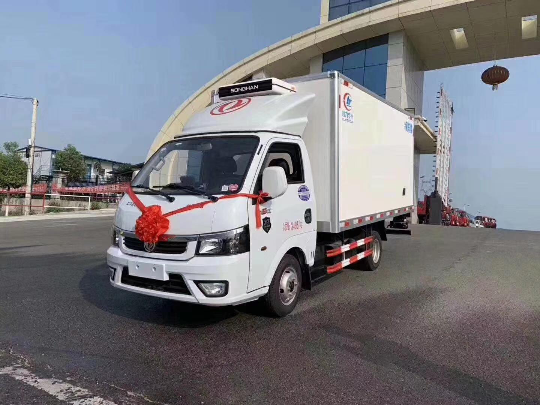 国六东风途逸3.5米冷藏车图片