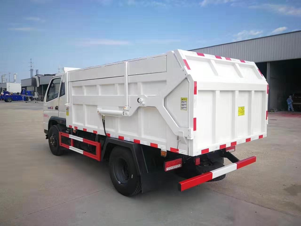 时风蓝牌3.5米货箱自卸车图片