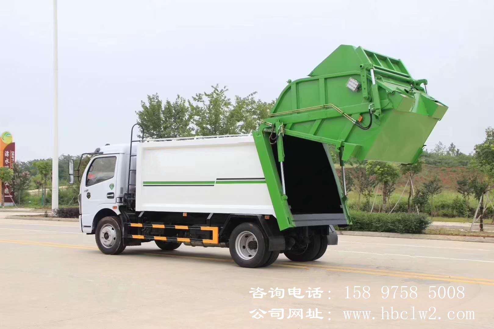 国六东风福瑞卡压缩式垃圾车图片