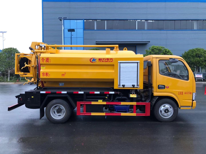 清洗吸污车加装洒水功能