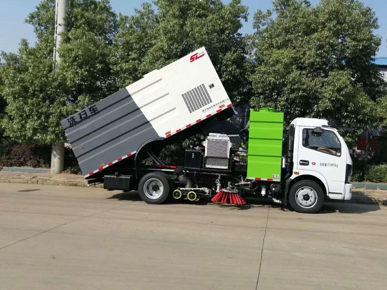 国6凯普特洗扫车图片