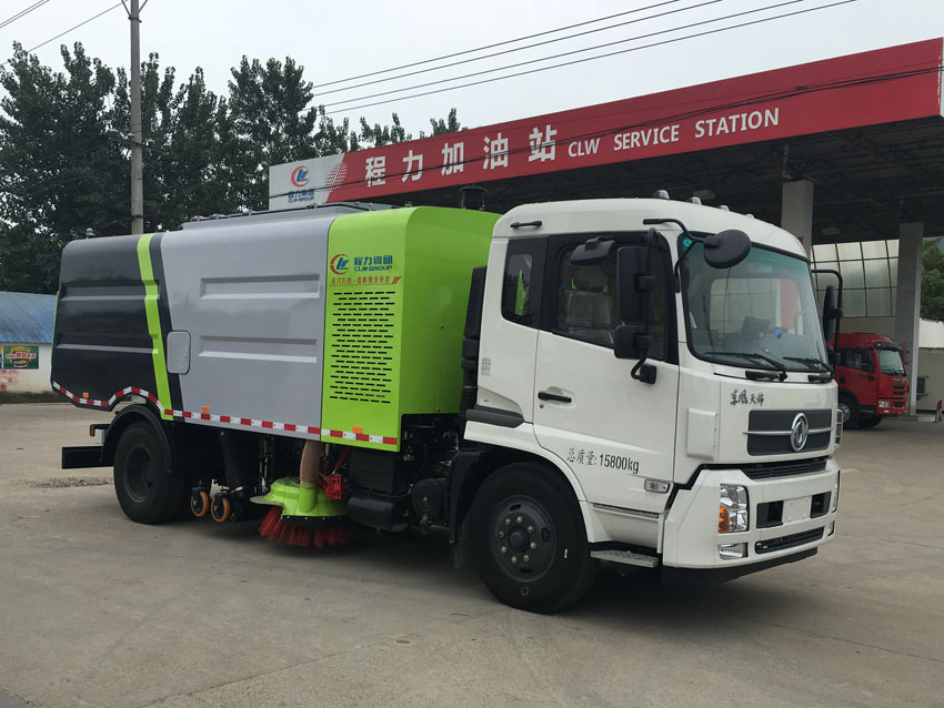 东风天锦煤矿湿地区域干扫车视频