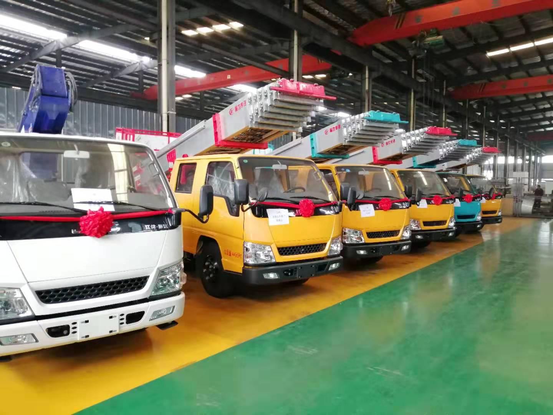 仅售32万 国六江铃32米云梯高空作业车价格 图片 配置 厂家