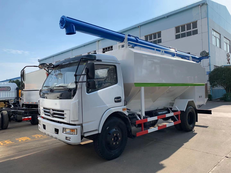 东风大多利卡12方6吨散装饲料运输车