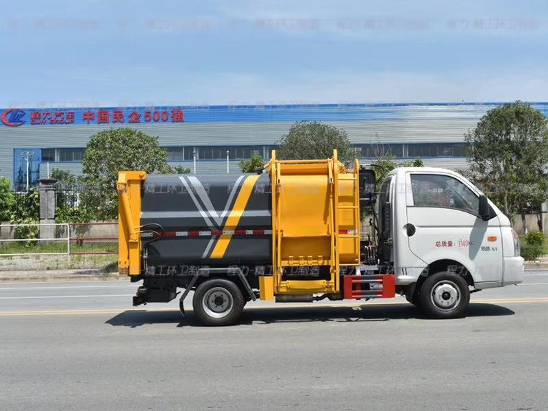 国六凯马5吨侧装压缩垃圾车图片