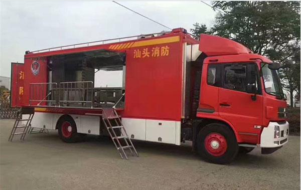 东风天锦消防保障炊事车15271321777 (3)
