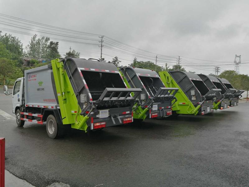 4方垃圾车直销-垃圾车价格,湖北程力