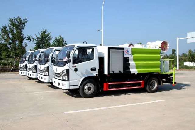8-12立方抑尘车厂家价格-批量发车了视频