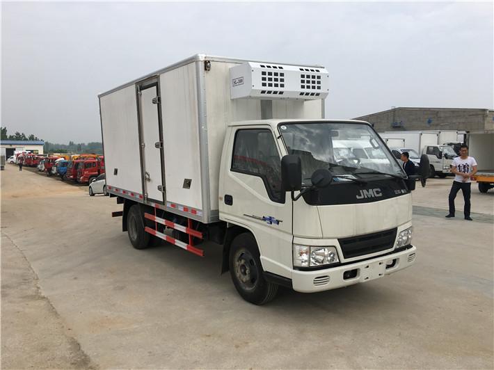 小型4.2米冷藏车多款底盘配置厂家推荐