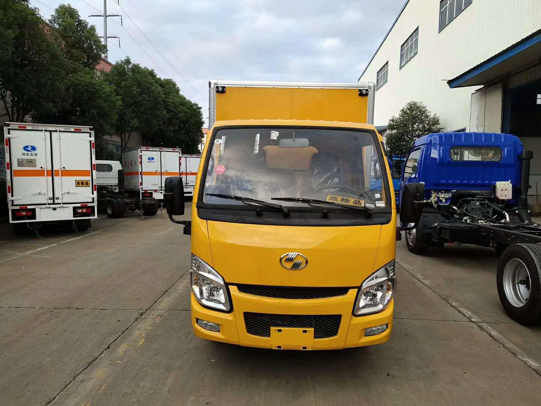 跃进小福星柴油国五易燃液体箱式车图片