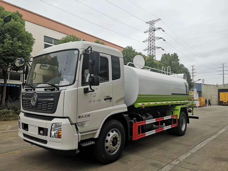 东风天锦国六12吨绿化喷洒车图片