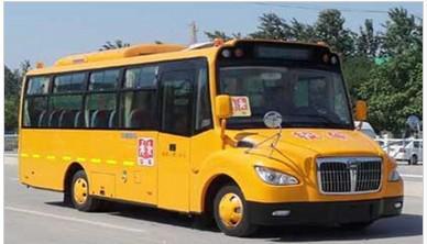 中通牌LCK6801DNX型24-43座小学生专用校车图片