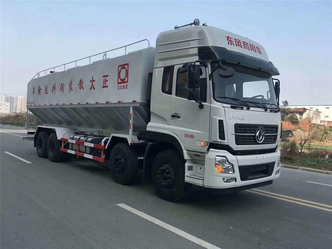 东风天龙大吨位散装饲料车销售15271321777