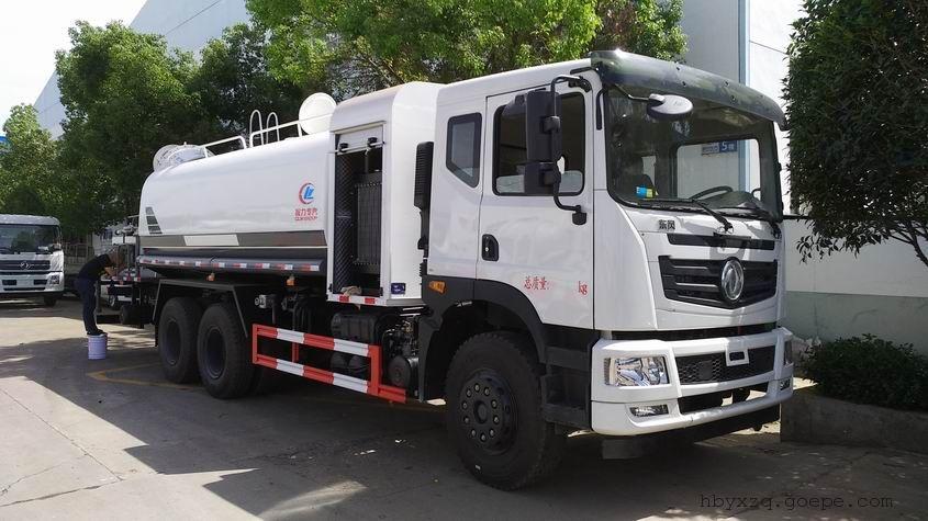 東風天龍16-20噸60米霧炮車多少錢圖片