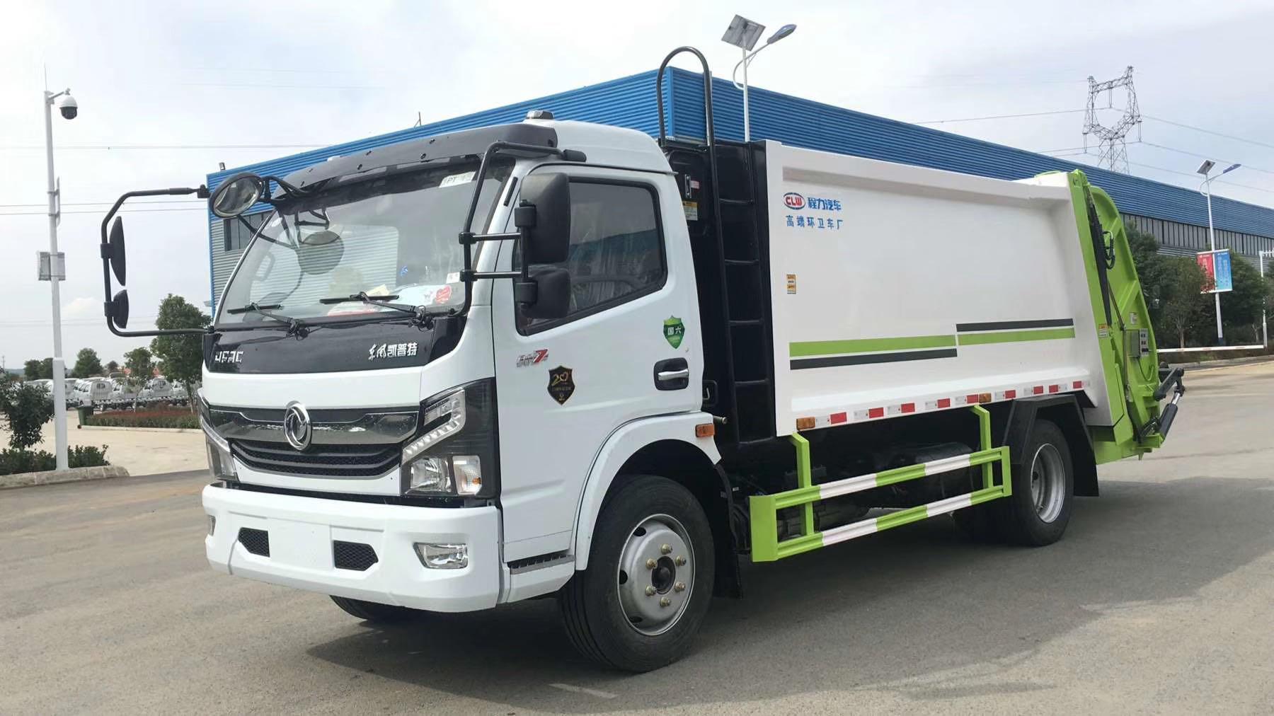 6臺東風多利卡6方壓縮垃圾車發往恩施,感謝恩施謝總支持與信任。