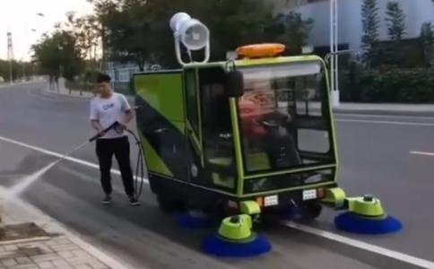 電動洗掃車特播效果視頻
