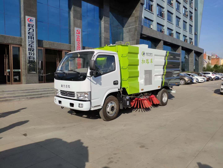 国五 东风多利卡扫路车和国六东风途逸小型扫路车全方位展示~~图片