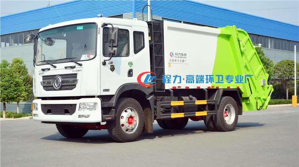 國六上新-東風多利卡垃圾車