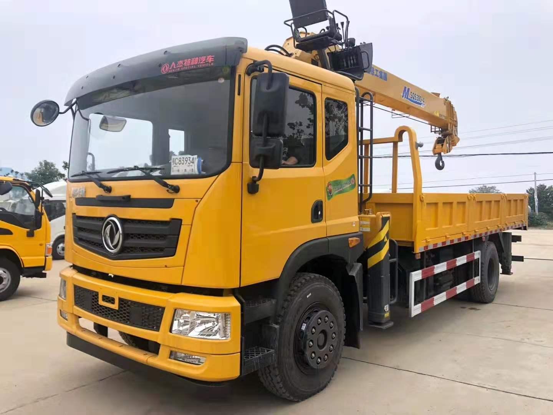 東風單橋世技卡特200馬力徐工12噸雙聯泵原廠5.8米大箱視頻