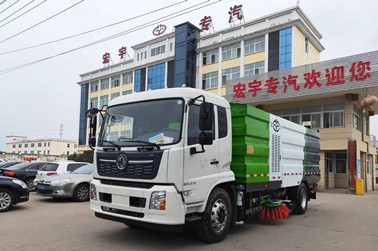 国六东风天锦16方大型洗扫车图片