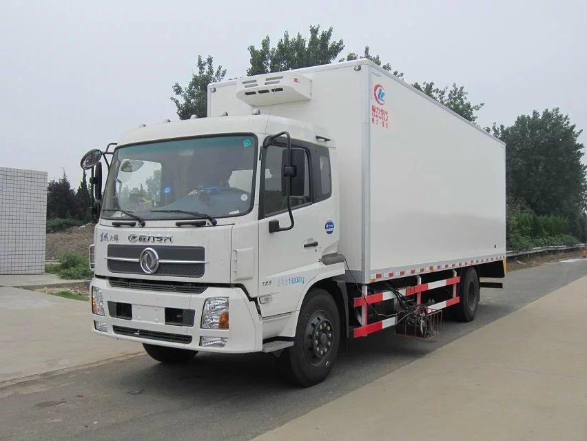 东风天锦7.4米冷藏车厂家直销,全国联保