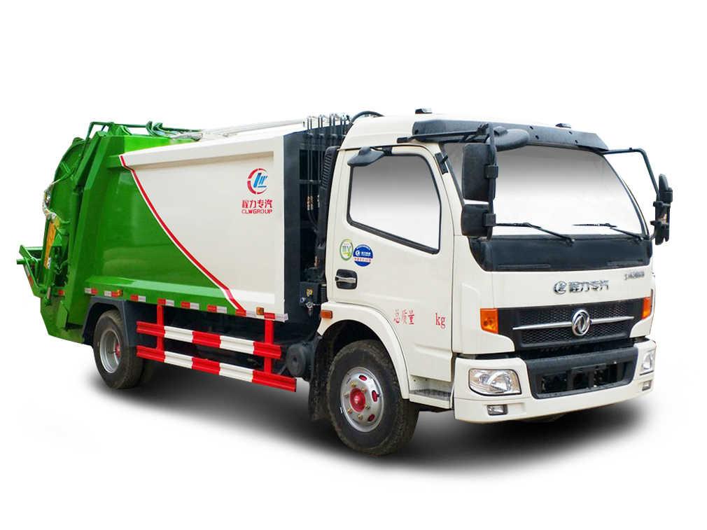 东风大多利卡压缩式垃圾车高清图片