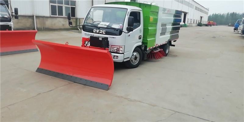 5噸掃路車配輕型除雪鏟圖片專汽詳情頁圖片