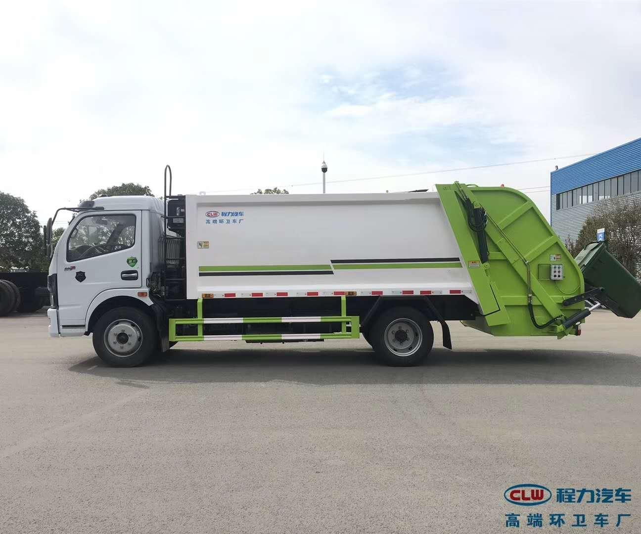 国六6立方压缩垃圾车价格-发车前试车准备视频