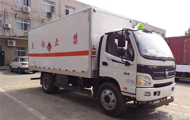 福田奥铃7.3吨烟花炮竹运输车
