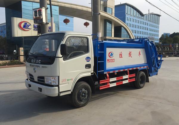 東風4方藍牌壓縮垃圾車