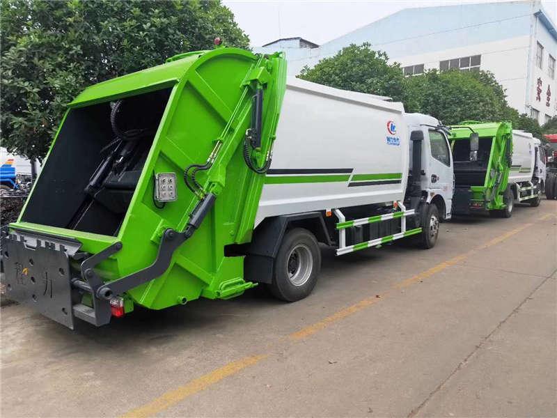 垃圾车12方压缩垃圾车多功能压缩垃圾车
