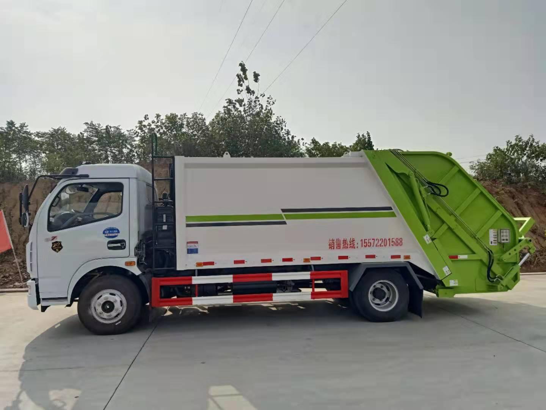 东风多利卡8方压缩式垃圾车压缩垃圾车品质保障